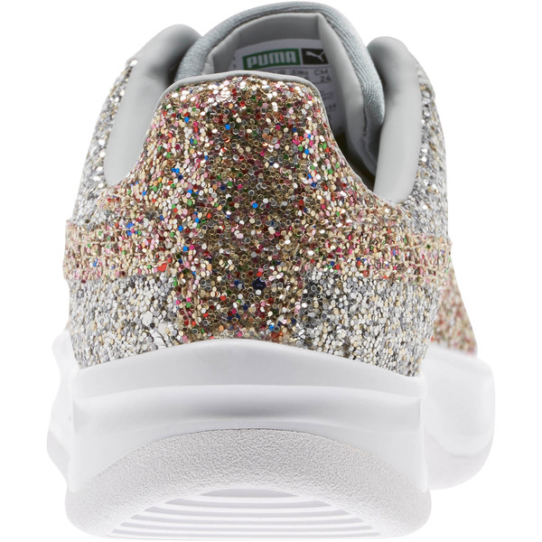 California Glitz Women's Sneakers, Silver-CERULEAN-Quarry, large
