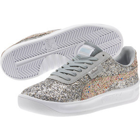 Thumbnail 2 of California Glitz Women's Sneakers, Silver-CERULEAN-Quarry, medium