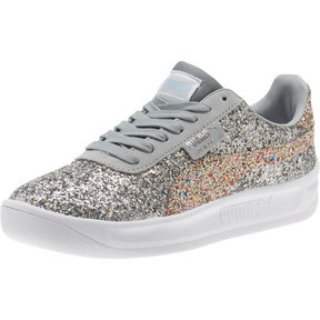 Thumbnail 1 of California Glitz Women's Sneakers, Silver-CERULEAN-Quarry, medium