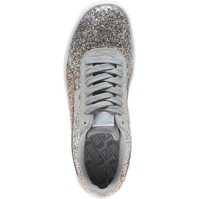 Thumbnail 5 of California Glitz Women's Sneakers, Silver-CERULEAN-Quarry, medium
