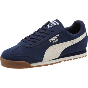 Roma Smooth Nubuck Sneakers