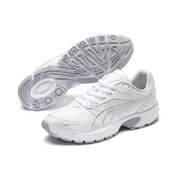 Axis SL Sneakers, Puma White-Glacier Gray, large