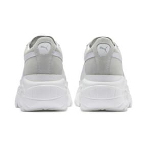 Thumbnail 3 of PUMA x BUFFALO Suede Shoes, Puma White-Puma White, medium