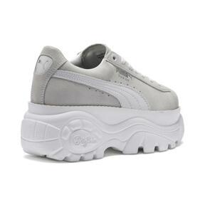 Thumbnail 7 of PUMA x BUFFALO Suede Shoes, Puma White-Puma White, medium