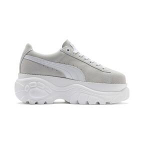 Thumbnail 5 of PUMA x BUFFALO Suede Shoes, Puma White-Puma White, medium