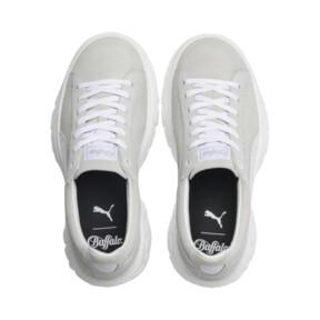 Thumbnail 6 of PUMA x BUFFALO Suede Shoes, Puma White-Puma White, medium