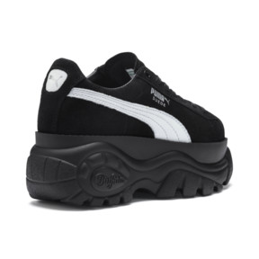 Thumbnail 7 of PUMA x BUFFALO Suede Shoes, Puma Black-Puma Black, medium