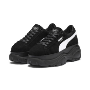Thumbnail 2 of PUMA x BUFFALO Suede Shoes, Puma Black-Puma Black, medium