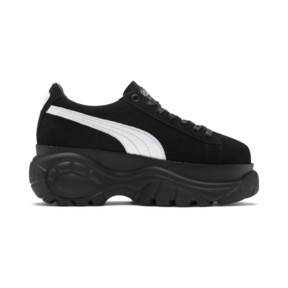 Thumbnail 5 of PUMA x BUFFALO Suede Shoes, Puma Black-Puma Black, medium