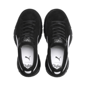 Thumbnail 6 of PUMA x BUFFALO Suede Shoes, Puma Black-Puma Black, medium