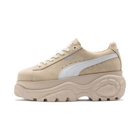 Thumbnail 1 of PUMA x BUFFALO Suede Shoes, Dawn-Puma White, medium