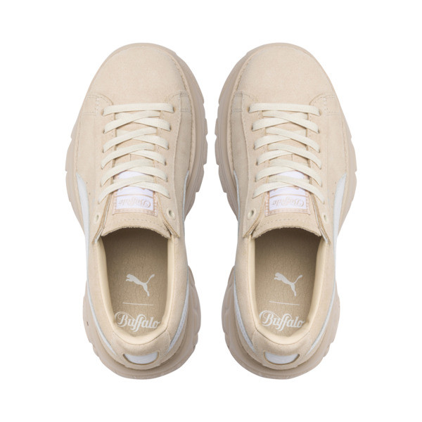 PUMA x BUFFALO Suede Shoes, Dawn-Puma White, large