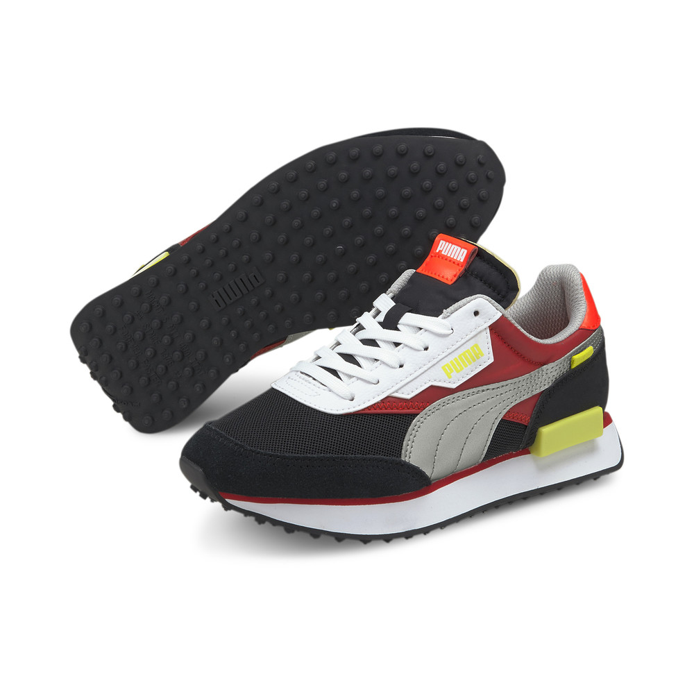 Image PUMA Future Rider Neon Flamme Youth Sneakers #2