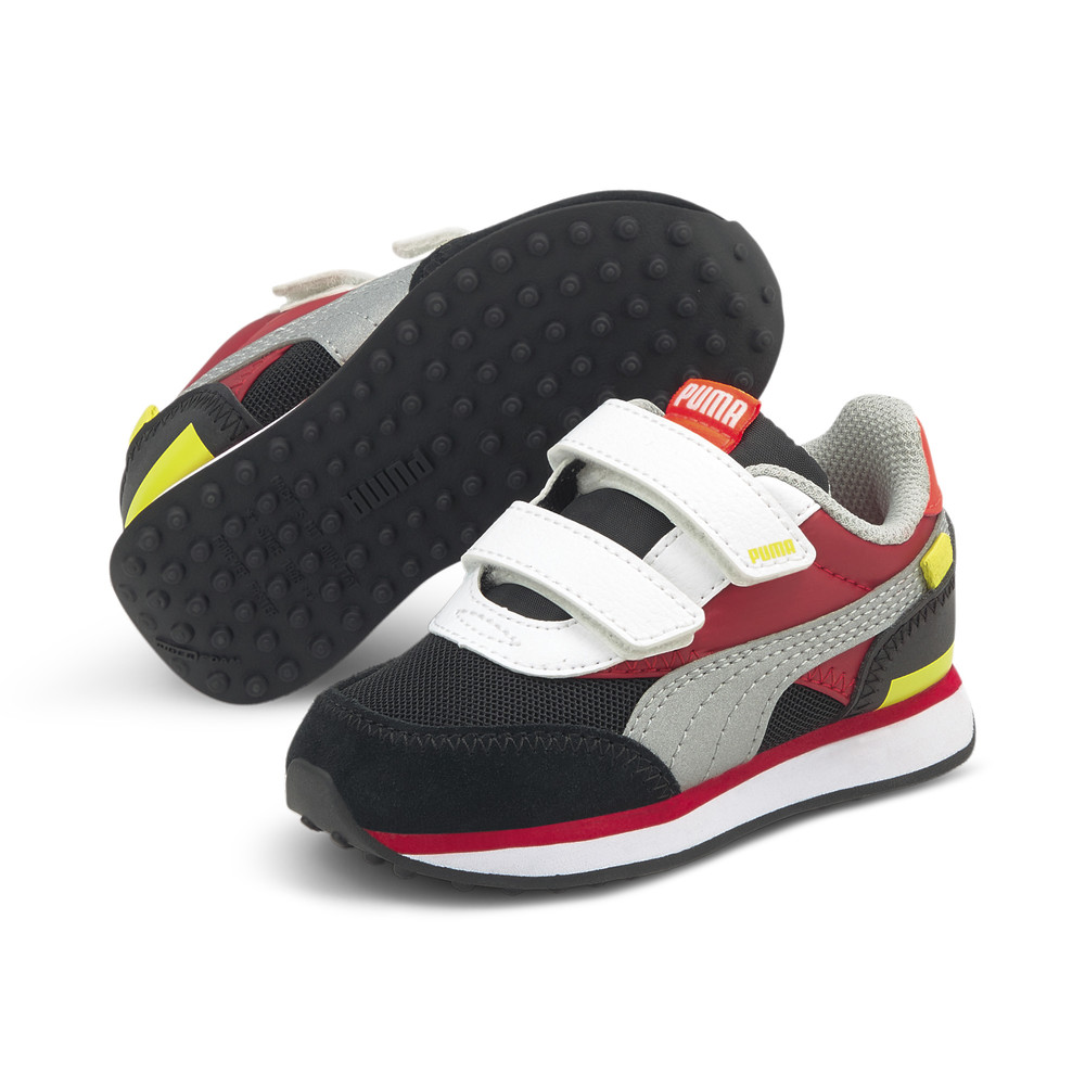 Image PUMA Future Rider Neon Flamme Babies' Sneakers #2