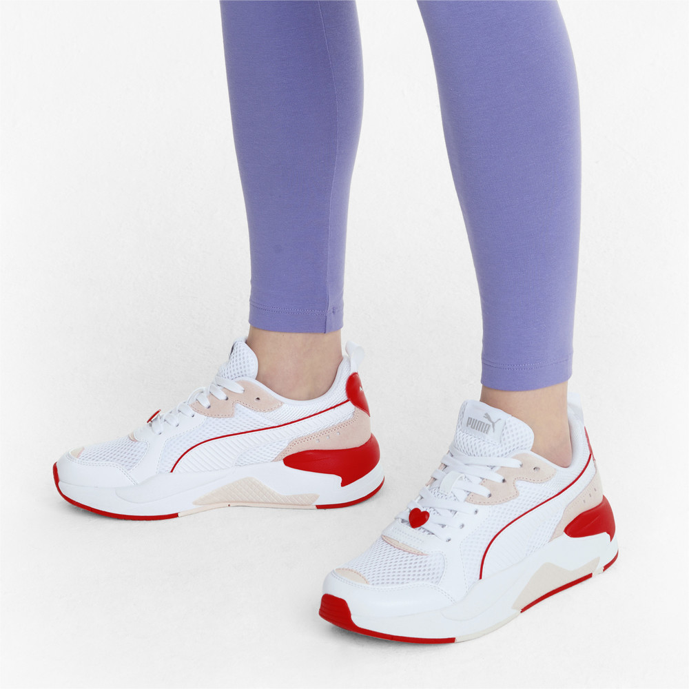 PUMA - female - Кроссовки X-Ray Game Valentine's Women's Trainers – White- White-Pink-Red – 37.5