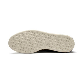 Thumbnail 5 of Suede Classic Blanket Stitch Sneakers, Charcoal Gray-Whisper White, medium