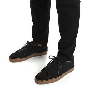 Thumbnail 2 van Suede Classic Blanket Stitch sneakers, Puma Black-Gum, medium
