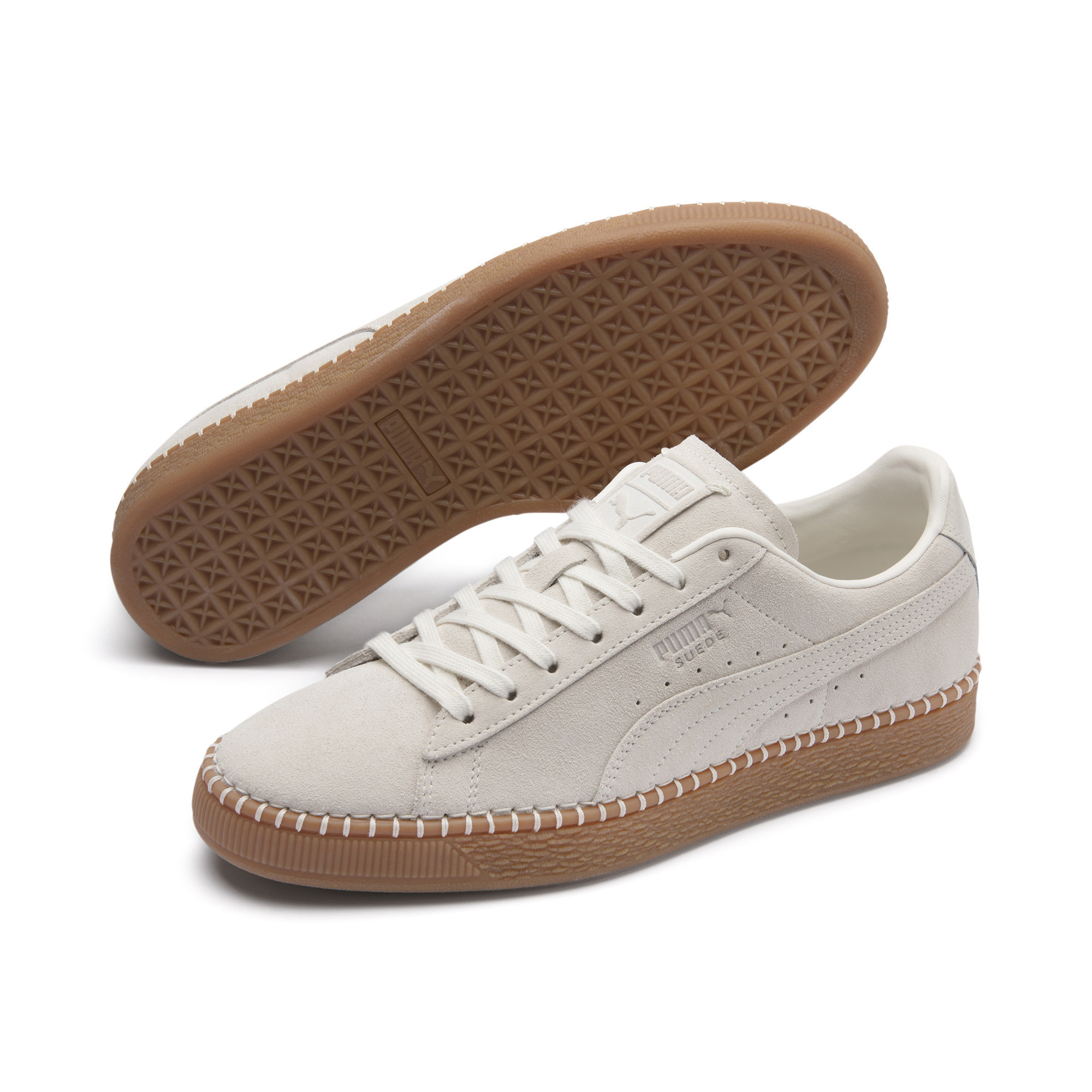 Image Puma Suede Classic Blanket Stitch Sneakers #3