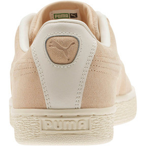 Thumbnail 4 of Suede Classic Raised Formstrip Sneakers, Natural Vachetta-Whisper w, medium