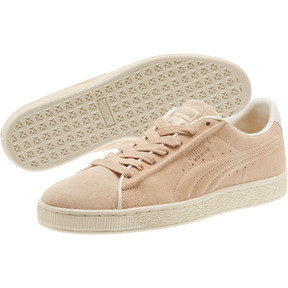 Thumbnail 2 of Suede Classic Raised Formstrip Sneakers, Natural Vachetta-Whisper w, medium
