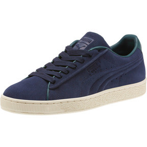 Thumbnail 1 of Suede Classic Raised Formstrip Sneakers, Peacoat-Ponderosa Pine, medium