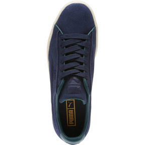 Thumbnail 5 of Suede Classic Raised Formstrip Sneakers, Peacoat-Ponderosa Pine, medium