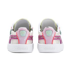 Miniatura 3 de ZapatosPUMA x SOPHIA WEBSTER Basket para niños, Puma White-Pale Pink, mediano