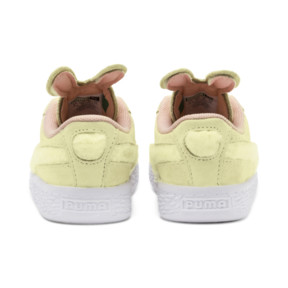 Thumbnail 3 of Suede Easter Kids' Trainers, YELLOW-Coral Cloud-Gold, medium