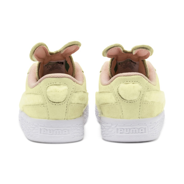 Suede Easter AC Sneakers PS, YELLOW-Coral Cloud-Gold, large