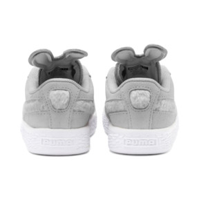 Thumbnail 3 of Suede Easter Kids' Trainers, Glacier Gray-Coral Cloud, medium