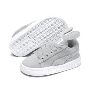 Thumbnail 2 of Suede Easter AC Sneakers PS, Glacier Gray-Coral Cloud, medium