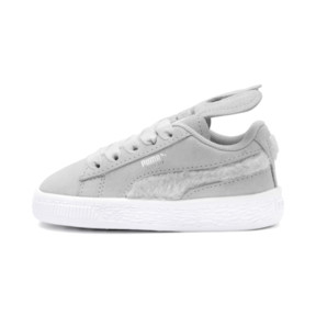 Thumbnail 1 of Suede Easter AC Sneakers PS, Glacier Gray-Coral Cloud, medium