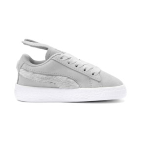 Thumbnail 5 of Suede Easter AC Sneakers PS, Glacier Gray-Coral Cloud, medium