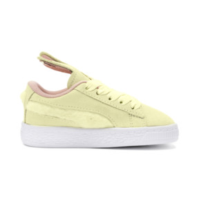 Thumbnail 5 of Suede Easter Alternate Closure Babies' Trainers, YELLOW-Coral Cloud-Gold, medium