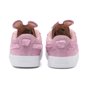 Thumbnail 3 of Suede Easter Alternate Closure Babies' Trainers, Pale Pink-Coral Cloud, medium