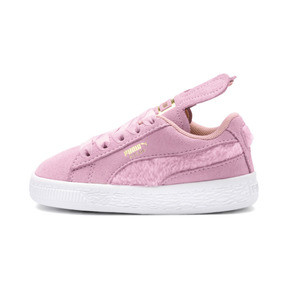 Thumbnail 1 of Suede Easter Alternate Closure Babies' Trainers, Pale Pink-Coral Cloud, medium