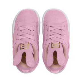 Thumbnail 6 of Suede Easter Alternate Closure Babies' Trainers, Pale Pink-Coral Cloud, medium