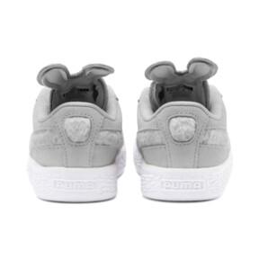 Miniatura 3 de Zapatos Suede Easter AC para bebé, Glacier Gray-Coral Cloud, mediano
