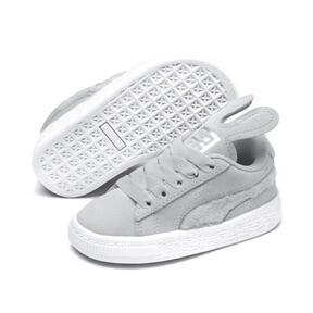 Miniatura 2 de Zapatos Suede Easter AC para bebé, Glacier Gray-Coral Cloud, mediano