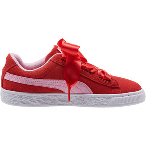 Thumbnail 3 of Suede Heart Radicals Sneakers JR, Hibiscus -Pale Pink, medium
