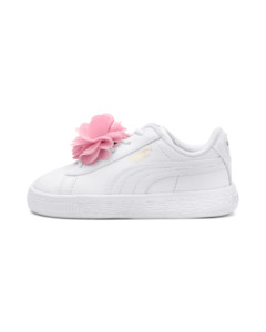 Image Puma Basket Flower Baby Sneakers