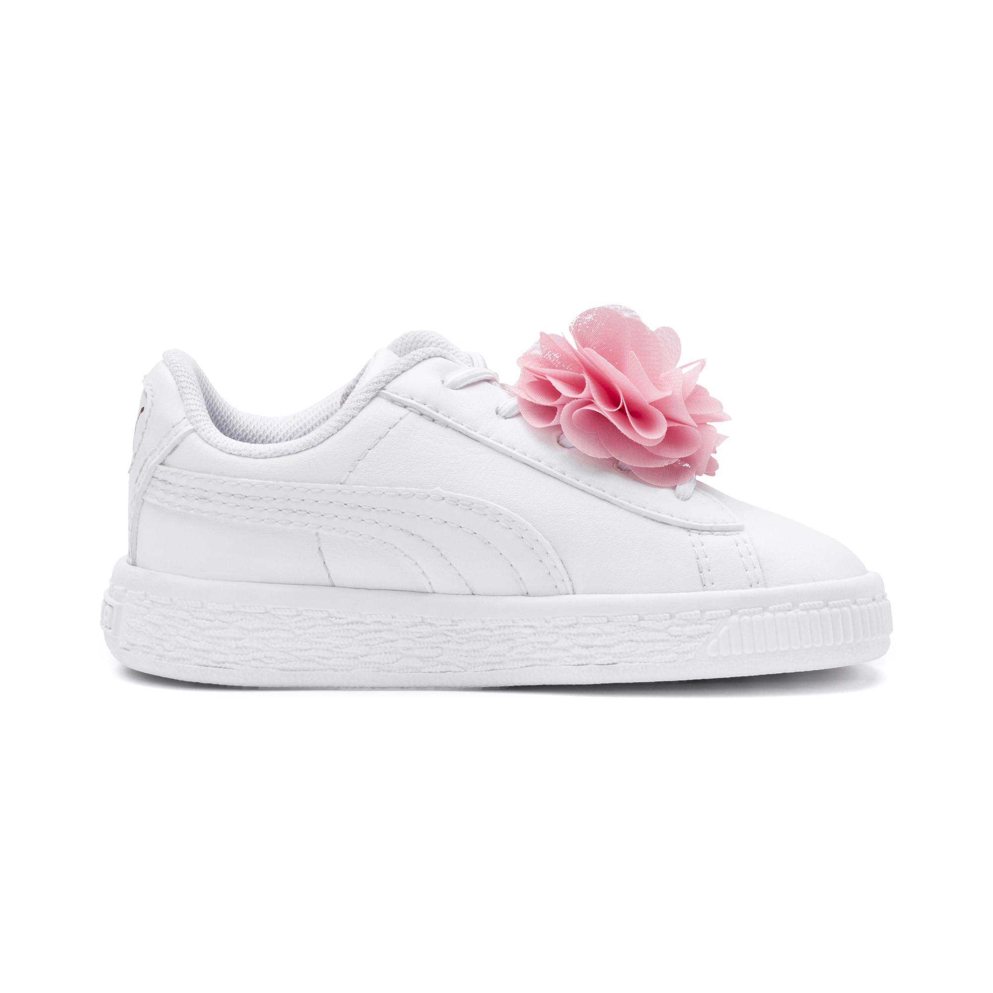 Image Puma Basket Flower Baby Sneakers #5