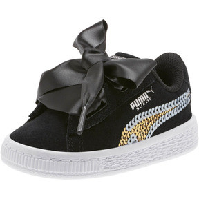 Suede Heart Trailblazer Sequin Little Kids' Shoes