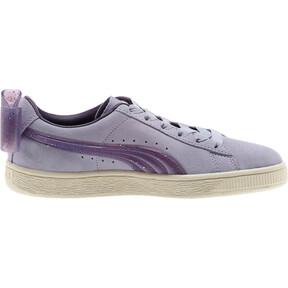 Thumbnail 4 of Suede Jelly Bow Sneakers JR, SweetLavender-Indigo-White, medium