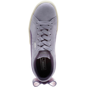 Thumbnail 5 of Suede Jelly Bow Sneakers JR, SweetLavender-Indigo-White, medium