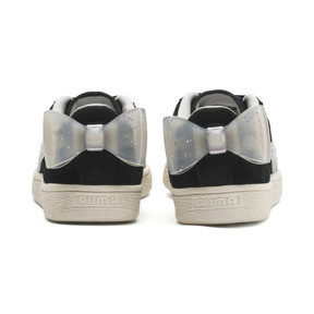 Thumbnail 3 of Suede Bow Jelly Girls' Trainers, Puma Black-Glac Gray-Silver, medium
