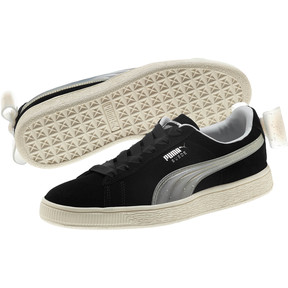 Thumbnail 2 of Suede Jelly Bow Sneakers JR, Puma Black-Glac Gray-Silver, medium