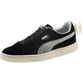 Thumbnail 1 of Suede Jelly Bow Sneakers JR, Puma Black-Glac Gray-Silver, medium