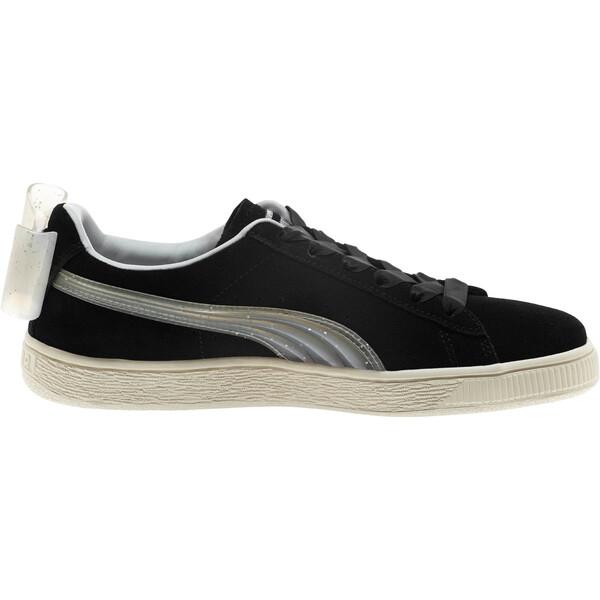 Zapatos deportivos Suede Jelly Bow JR, Puma Black-Glac Gray-Silver, grande
