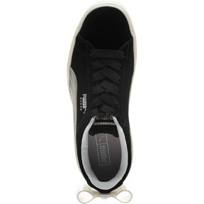 Thumbnail 5 of Suede Jelly Bow Sneakers JR, Puma Black-Glac Gray-Silver, medium